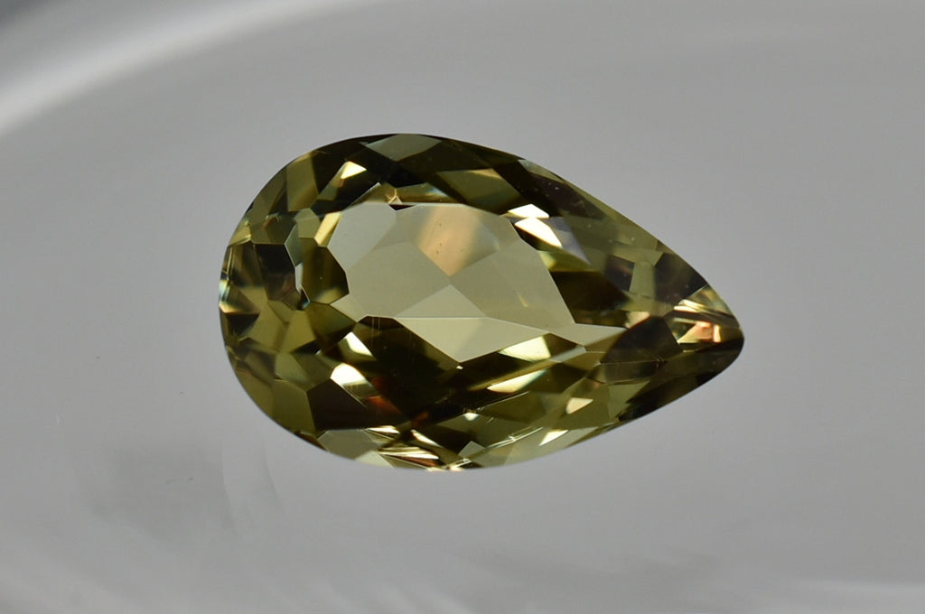 SOLD 3.07 Ct Pear Zultanite Natural Color-Change Loose Gem 12x7.5mm Cert of Auth 228