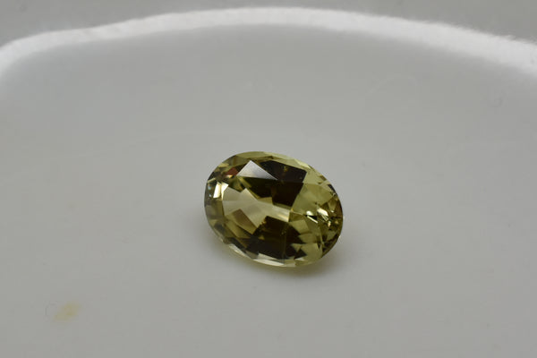 Zultanite (1) 1.37 Ct Natural Loose Gem 8x6mm Oval Cut Cert of Auth G011