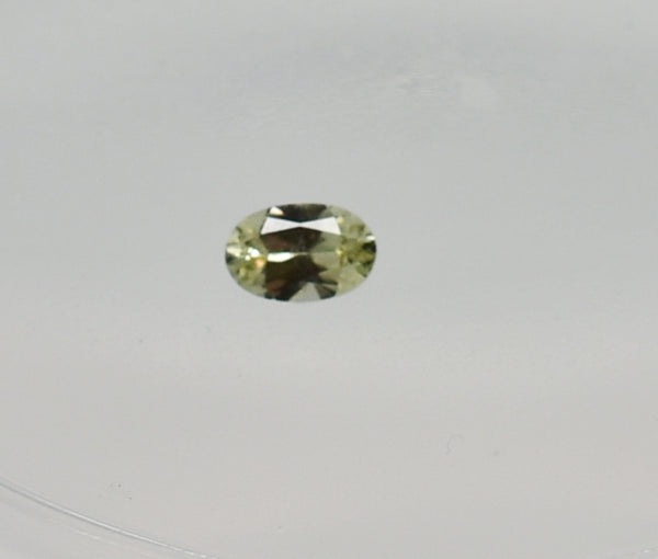 0.2 Ct Natural Zultanite Loose Gem Gemstone - 5x3mm Precision Oval Brilliant Cut W Cert Of Auth #E004