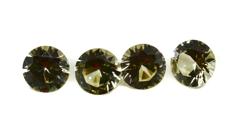 (1)  Zultanite Natural Loose Gem 5mm .47 ct Round Cut Cert of Auth G001