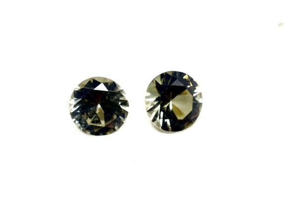 0.80 Ct Zultanite Loose Gemstone (1) Natural - 6mm Round Cut w Cert of Authenticity G002 - 10 available