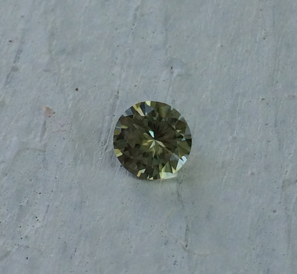Zultanite Natural Loose Gem 6.5mm 1.1 ct Round Cut Cert of Auth F009