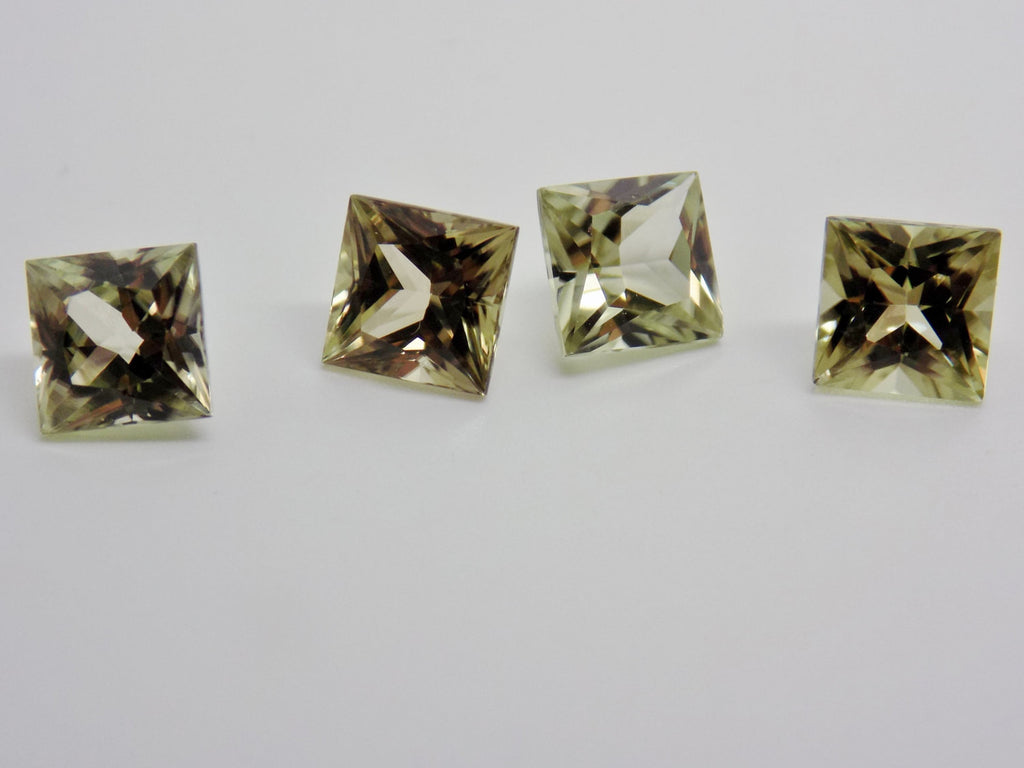 SOLD 1.28 Ct Natural Zultanite Loose Gem Gemstone - 6mm Princess Cut W Cert Of Auth #b035