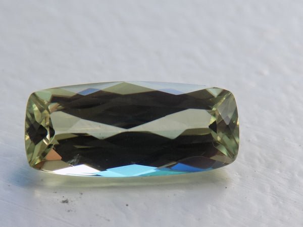 2.38 Ct. Natural Zultanite Loose Gem Gemstone - 12.5x5.5mm Antique Cushion Cut W Cert Of Auth #122