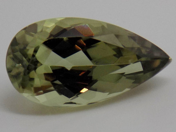 4.04 Ct. Natural Zultanite Loose Gem Gemstone - 14x7.5mm Pear Cut W Cert Of Auth #238