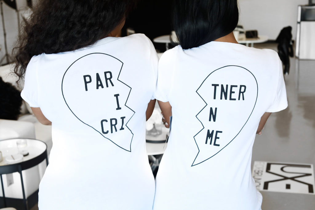 PARTNER IN CRIME T-SHIRT SET