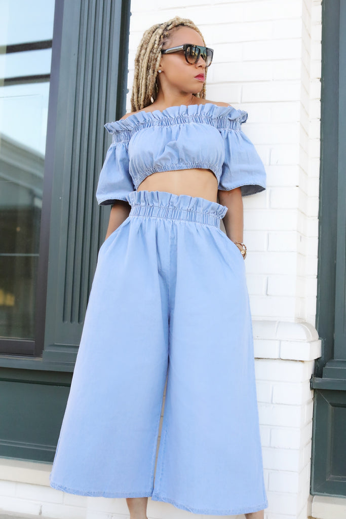 The Daylan Denim Set