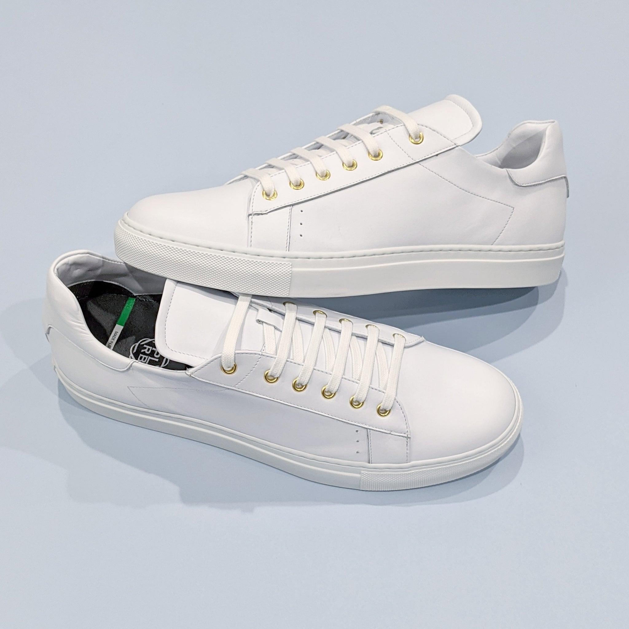 PLRB Lorenzo Sneakers in Milk White
