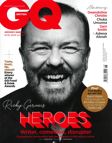 PLRB in British GQ June 2019 Edition