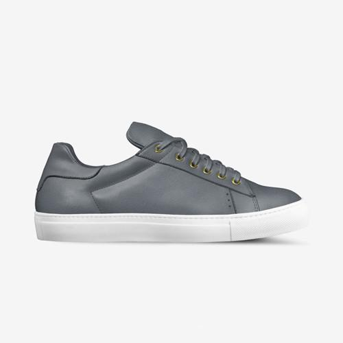 LORENZO SUEDE SNEAKERS IN CHELSEA GREY | Poor Little Rich Boy Clothing