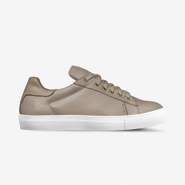 LORENZO SUEDE SNEAKERS IN BERKELEY BEIGE | Poor Little Rich Boy Clothing