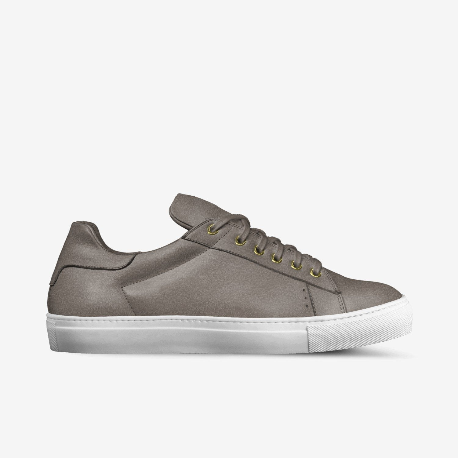 LORENZO LEATHER SNEAKERS IN CLAY | Poor Little Rich Boy Clothing