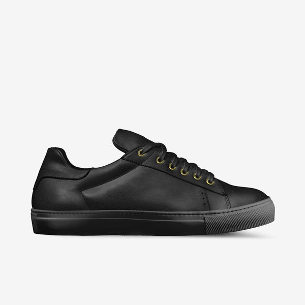 LORENZO SUEDE SNEAKERS IN BLACK | Poor Little Rich Boy Clothing