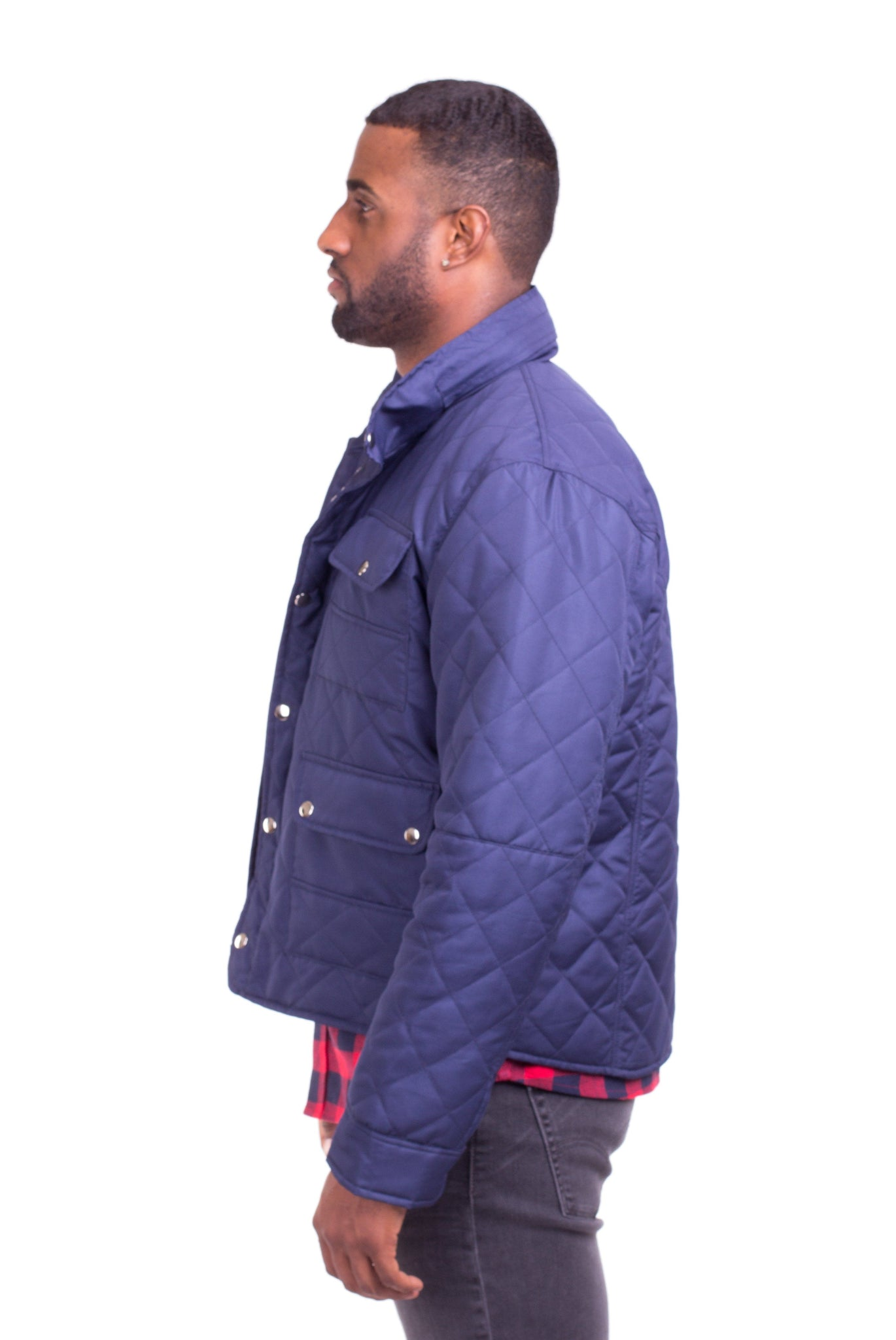 ENZO QUILTED JACKET | Poor Little Rich Boy Clothing