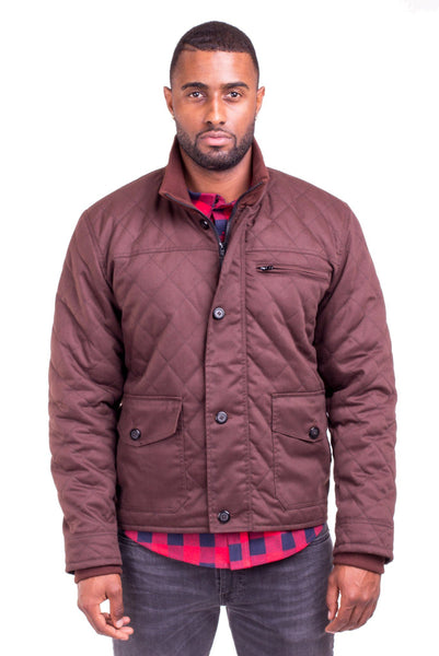 Poor Little Rich Boy Hudson Quilted Jacket - Poor Little Rich Boy Men's Jackets and Outerwear - Plrbclothing.com