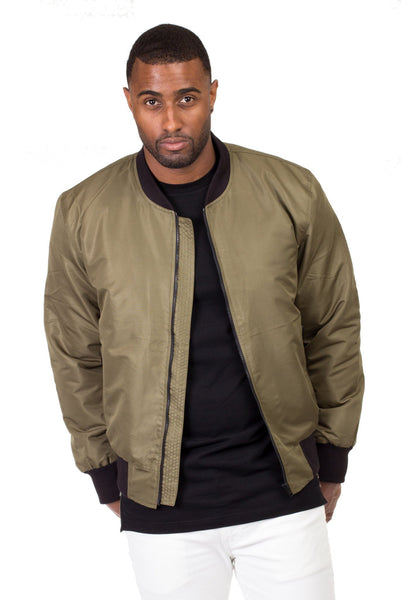 Poor Little Rich Boy Maverick Bomber Jacket - Poor Little Rich Boy Men's Jackets and Outerwear - Plrbclothing.com