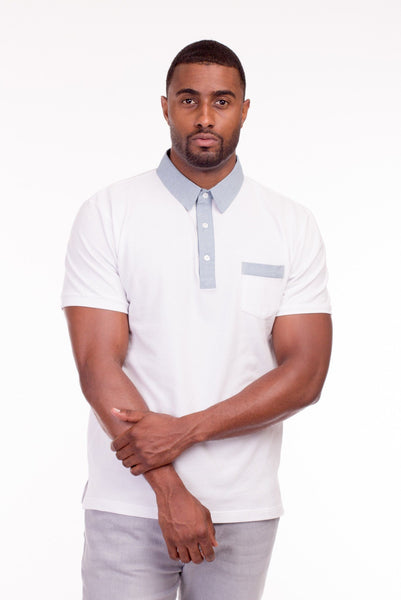 ST JOHN POLO SHIRT | Poor Little Rich Boy Clothing