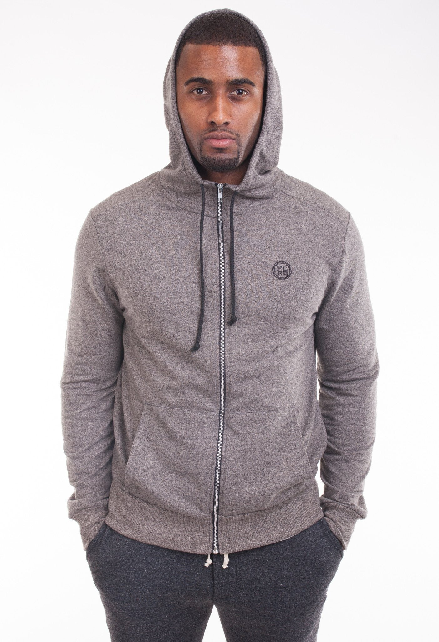 Ash Hooded Sweatshirt - Poor Little Rich Boy Men's Jackets and Outerwear - Plrbclothing.com