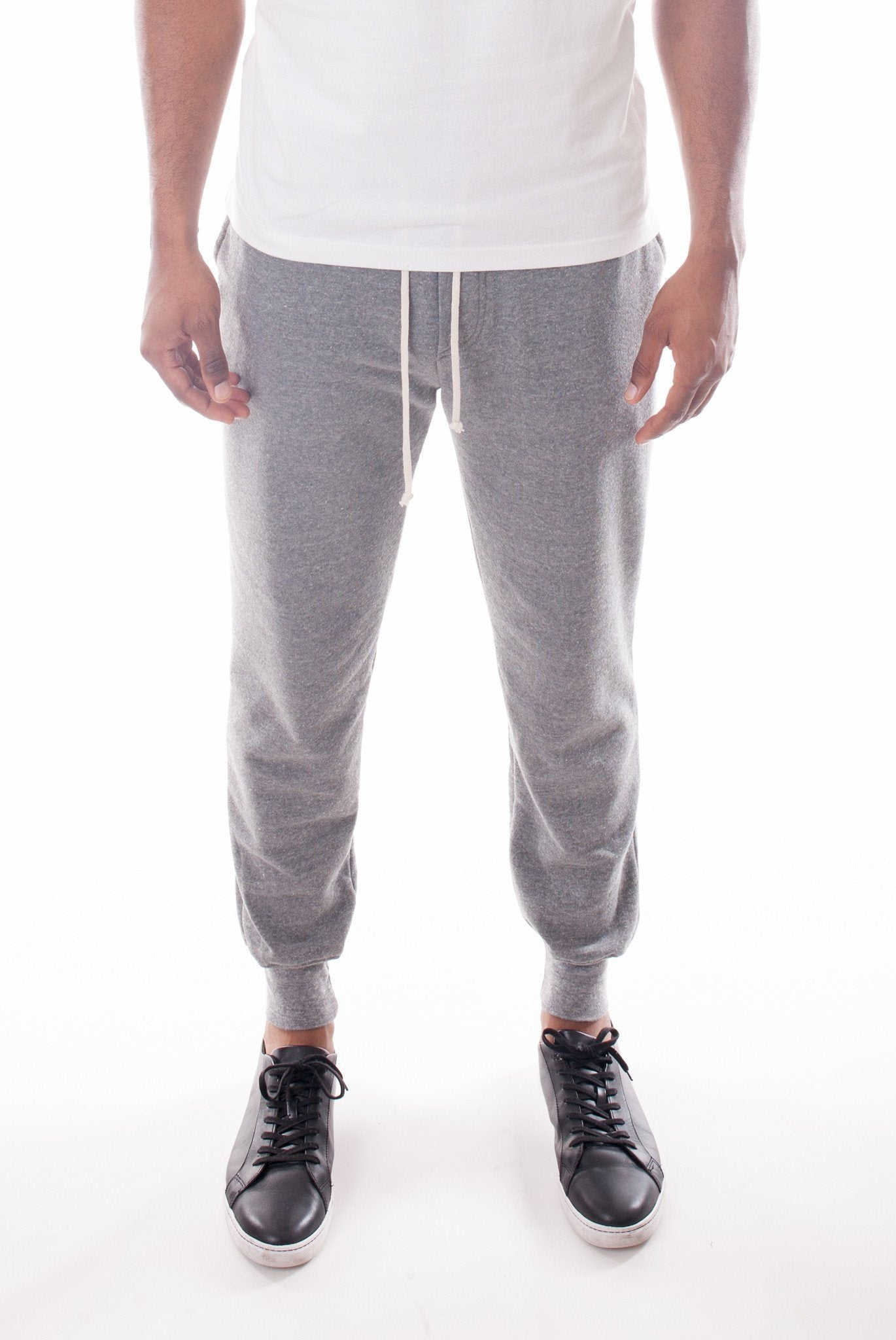 HEATHER GREY JOGGERS | Poor Little Rich Boy Clothing