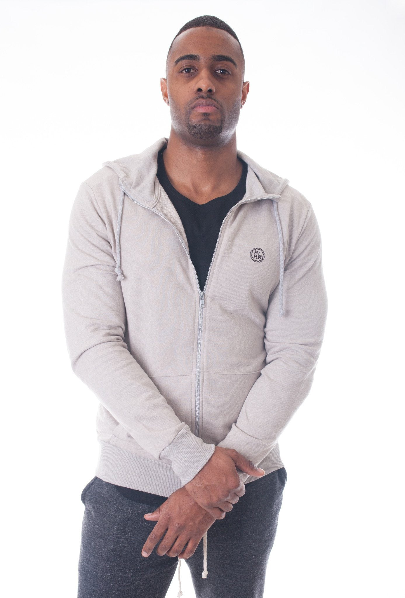 Mist Hooded Sweatshirt - Poor Little Rich Boy Men's Jackets and Outerwear - Plrbclothing.com