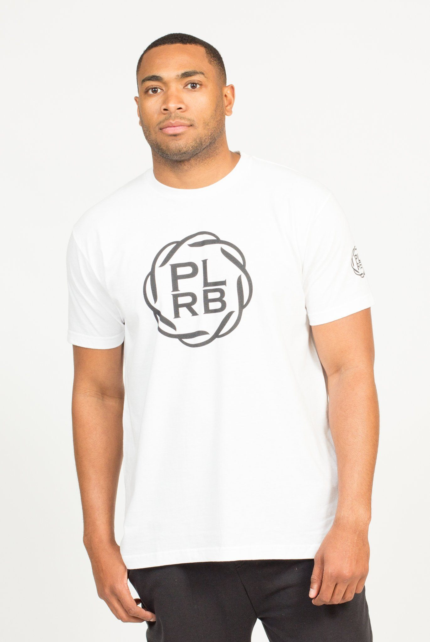 PLRB LOGO T-SHIRT IN WHITE | Poor Little Rich Boy Clothing