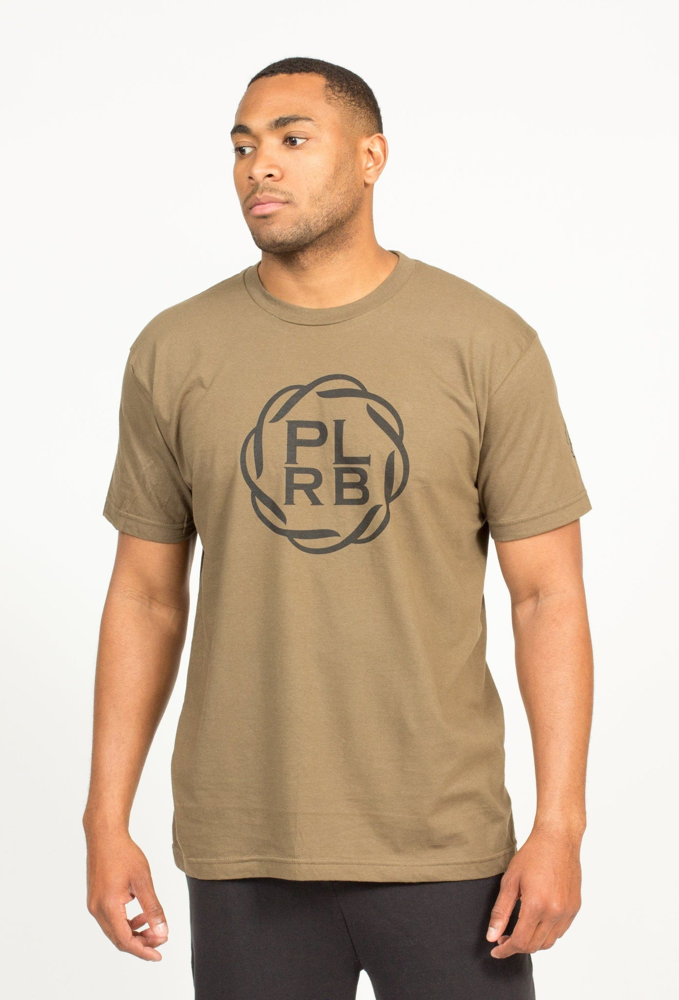 PLRB LOGO T-SHIRT IN ARMY | Poor Little Rich Boy Clothing