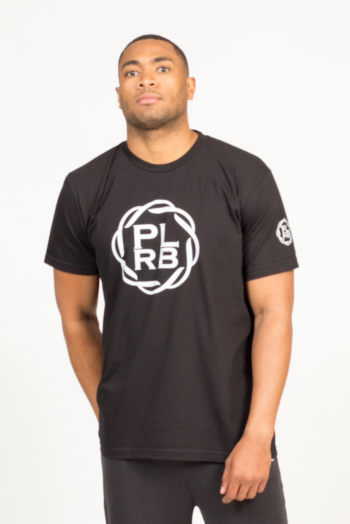 PLRB LOGO T-SHIRT IN BLACK | Poor Little Rich Boy Clothing