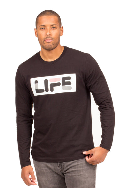 LIFE LONG SLEEVE T-SHIRT | Poor Little Rich Boy Clothing