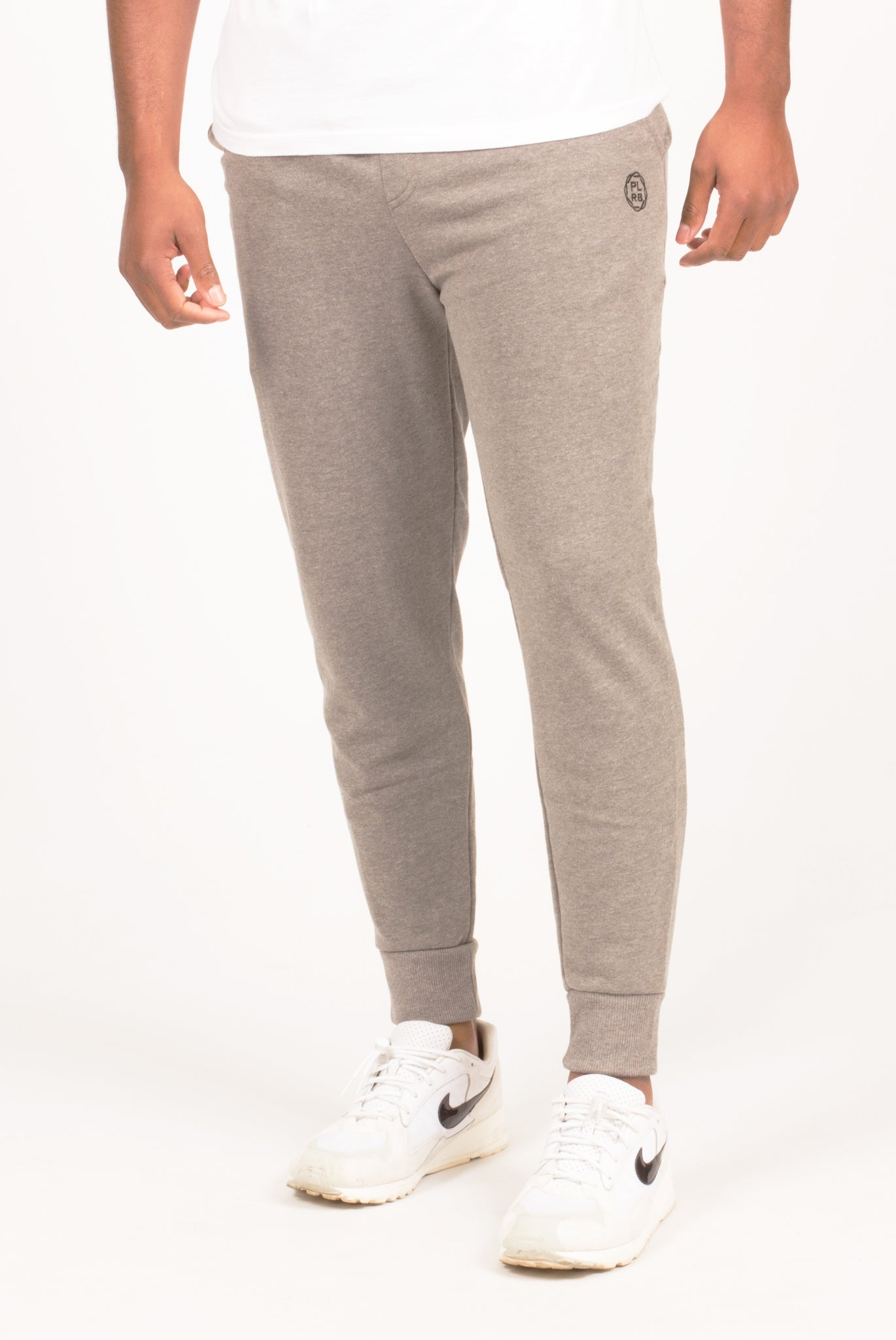 PLRB FLEX HEATHER GREY JOGGERS | Poor Little Rich Boy Clothing