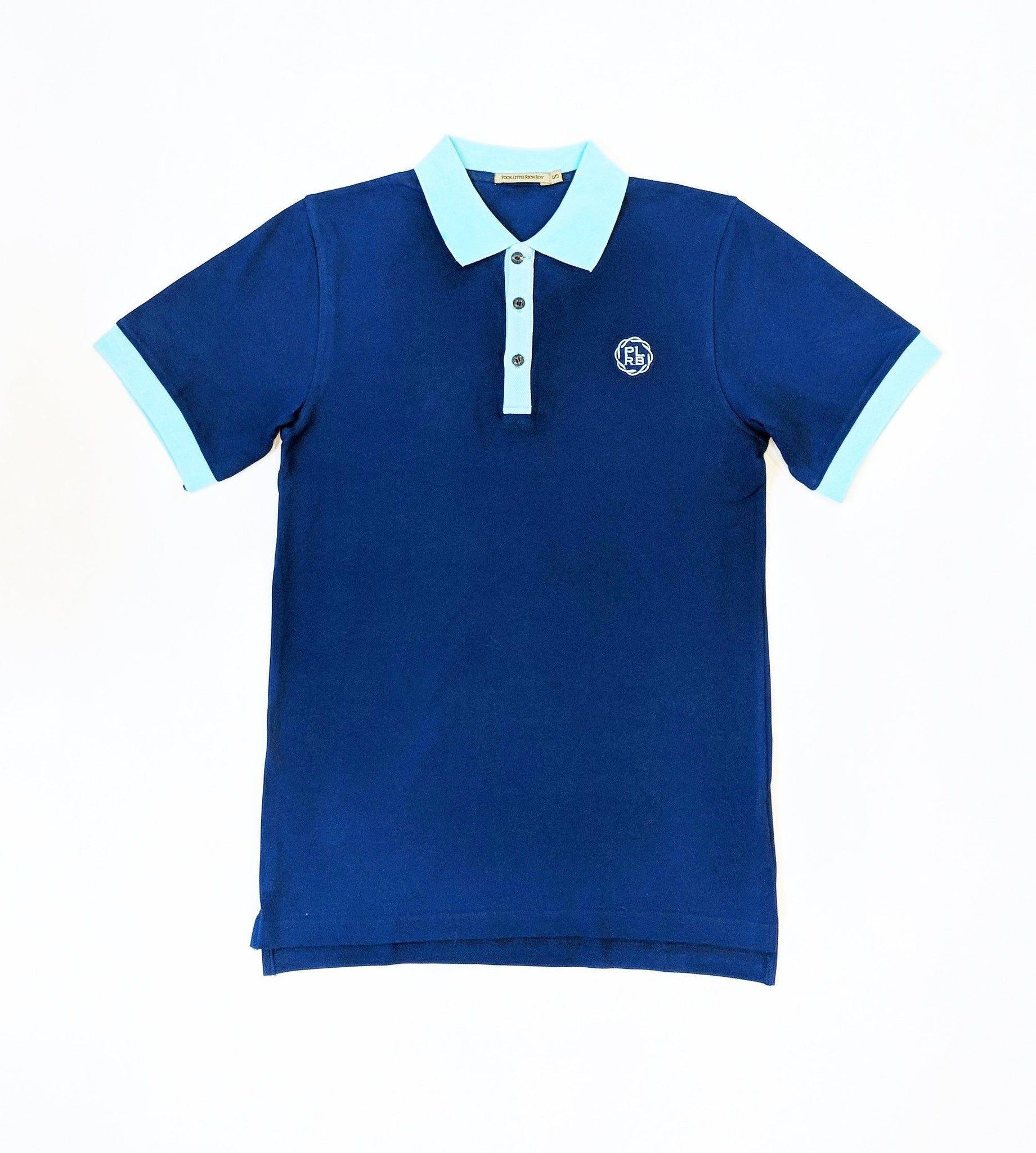HEALDSBURG POLO SHIRT IN NAVY BLUE | Poor Little Rich Boy Clothing