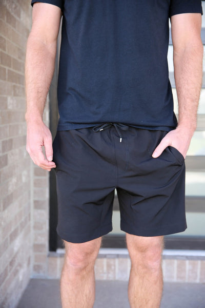 The Zoom Short - Black