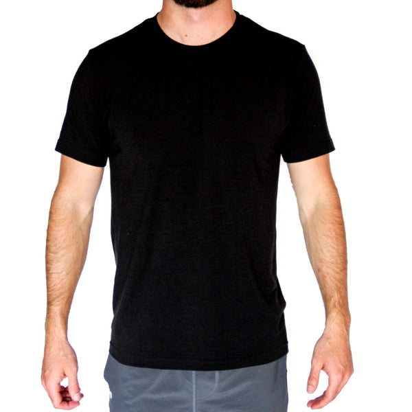 Black Elevated Tee