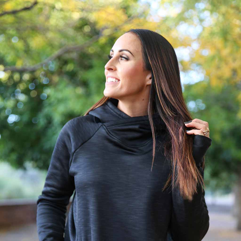 Paleomg THERMOLITE® CORE Hoodie - Heather Black