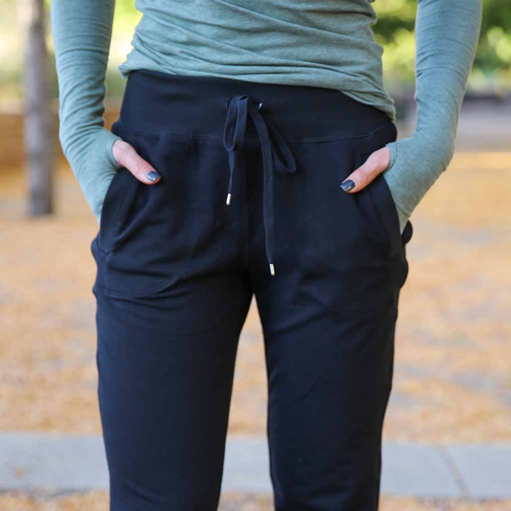 Good Times Jogger -  Black, Paleomg