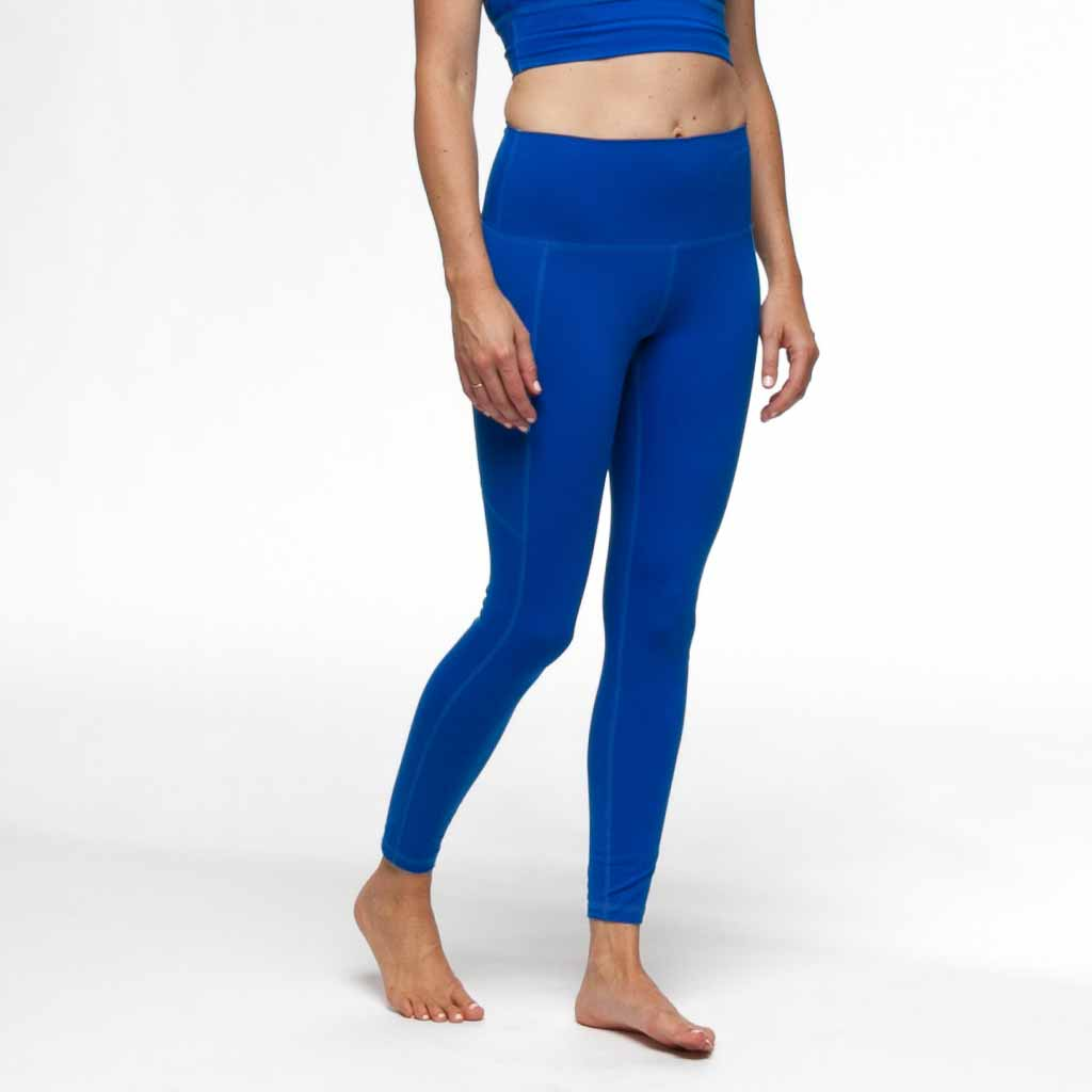 PaleOMG Azure 7/8 Legging -  High Waist, w/ Side Pockets