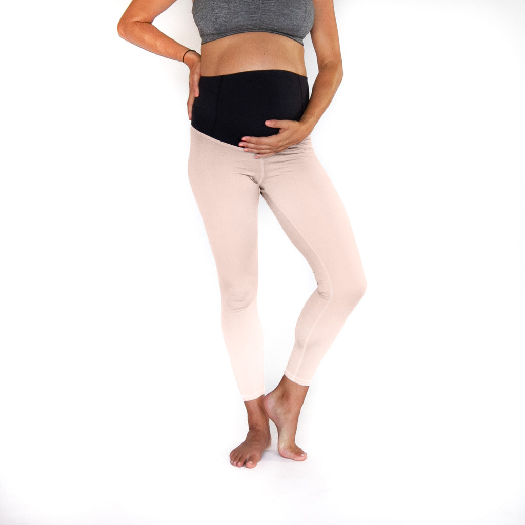 Blush Maternity 7/8 Legging -  Adjustable High Waist