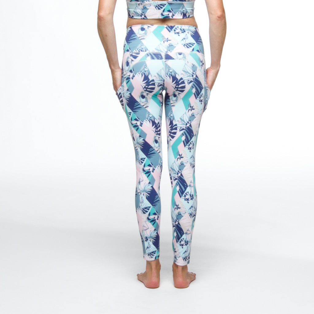 PaleOMG Magic Eye 7/8 Legging -  High Waist, w/ Side Pockets