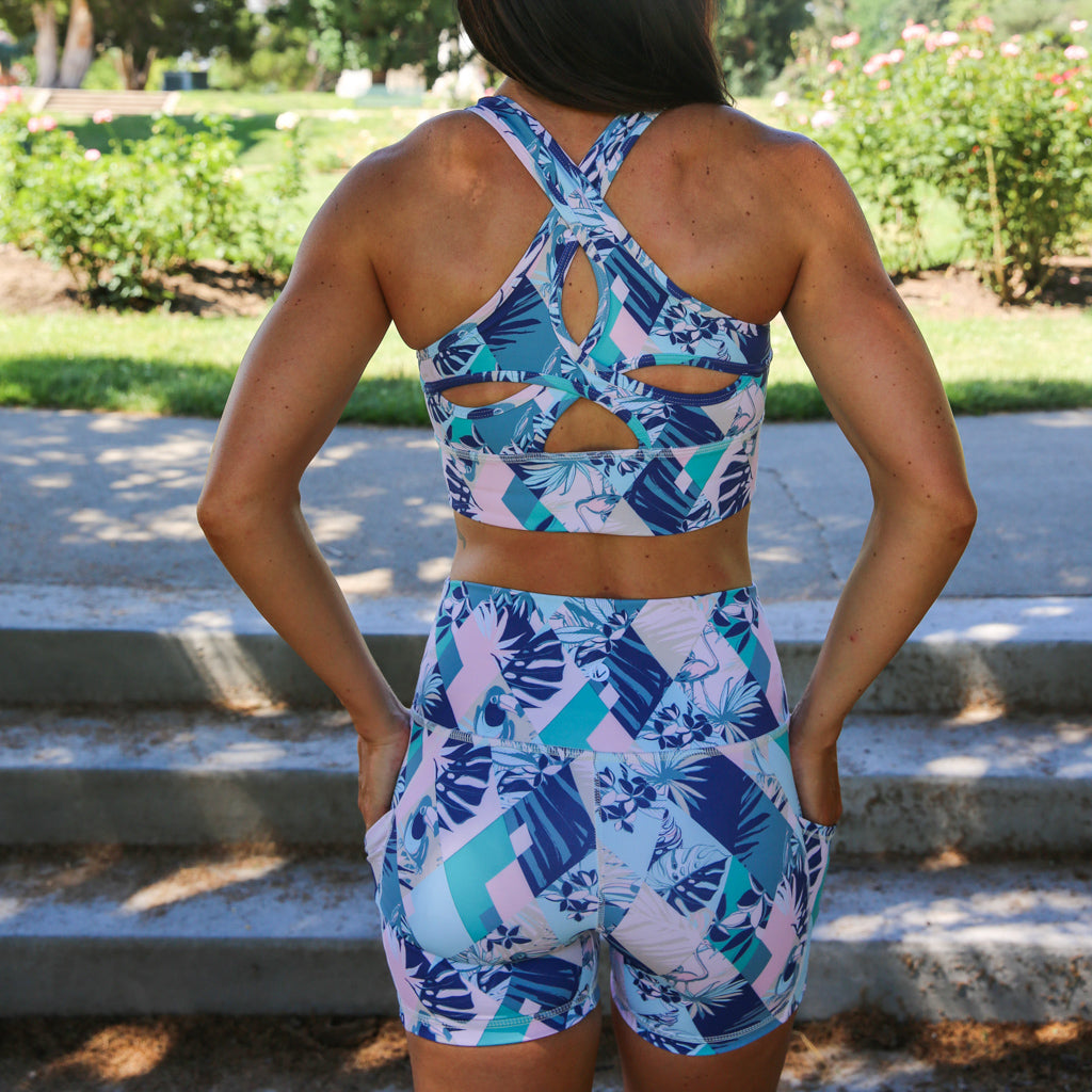 PaleOMG Magic Eye Short -  High Waist, w/ Side Pockets