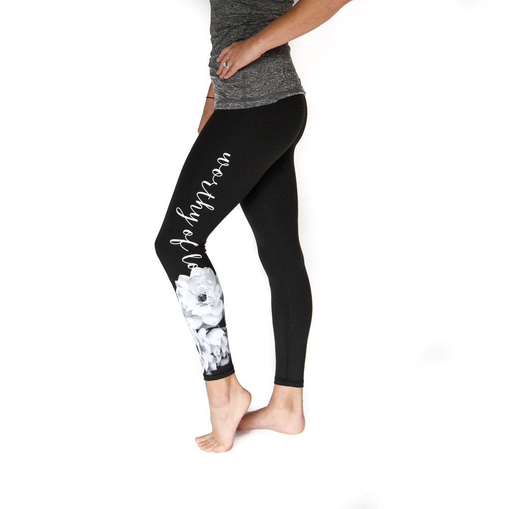 Worthy of Love Legging - High Rise