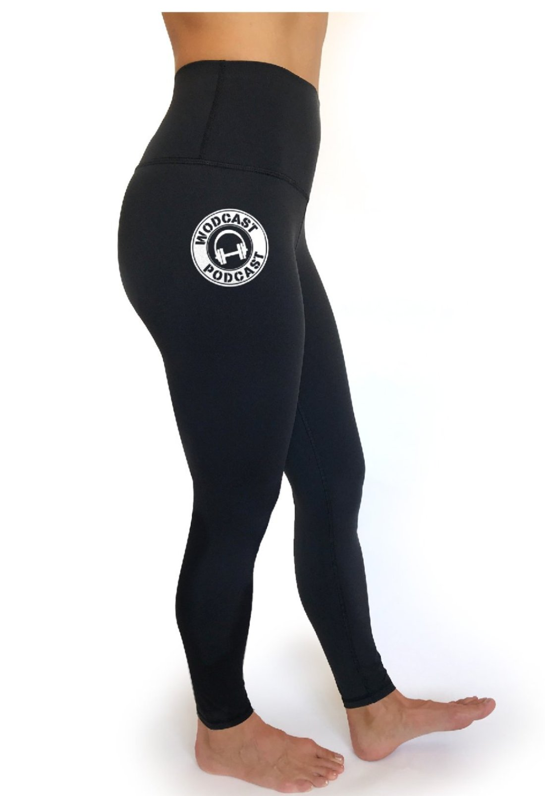 Wodcast Podcast - Rise Up Legging Black - High Waist, 7/8 length