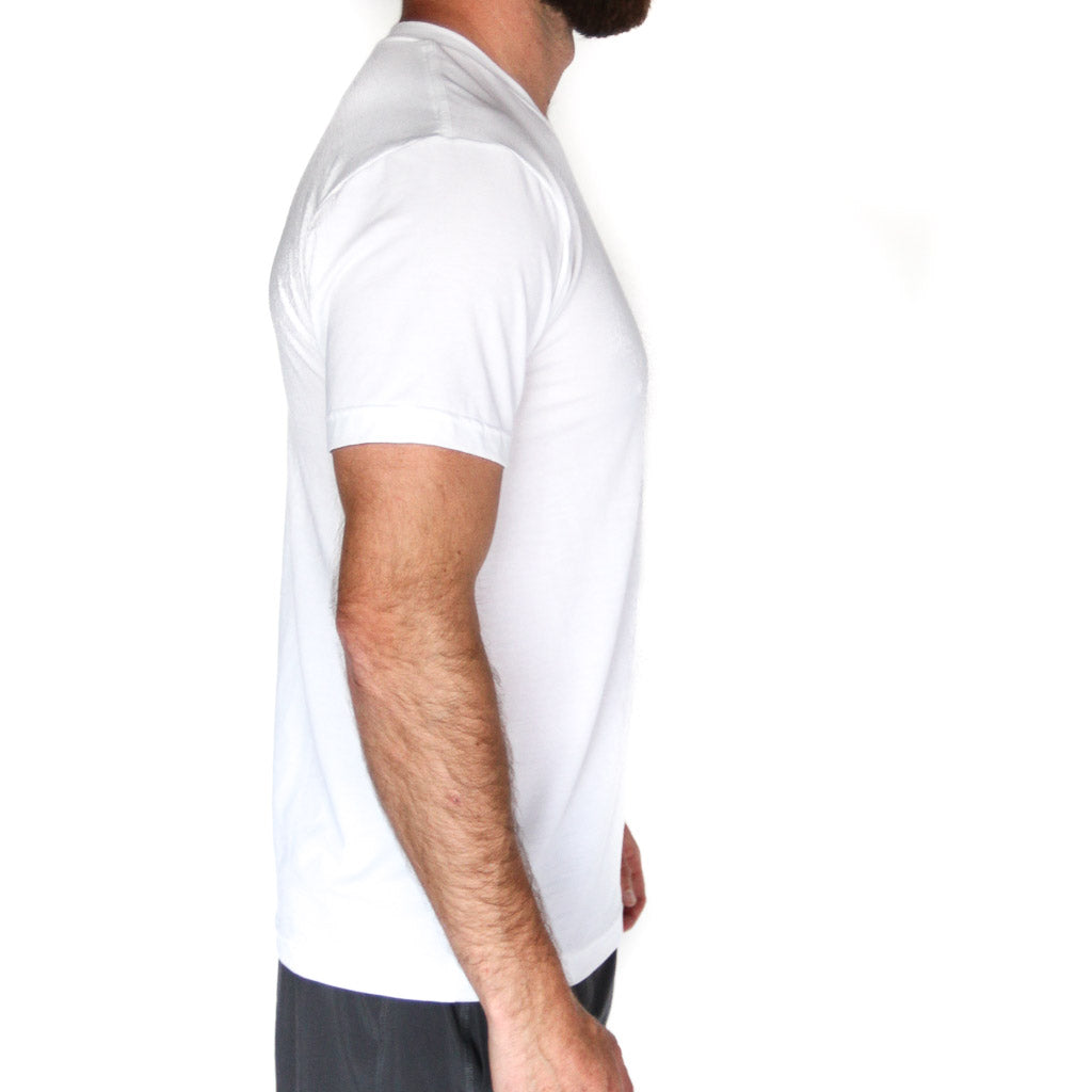 White Elevated Tee