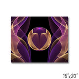 Purple and Gold Design - 1