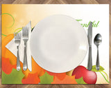 Thanksgiving Vinyl Place Mats