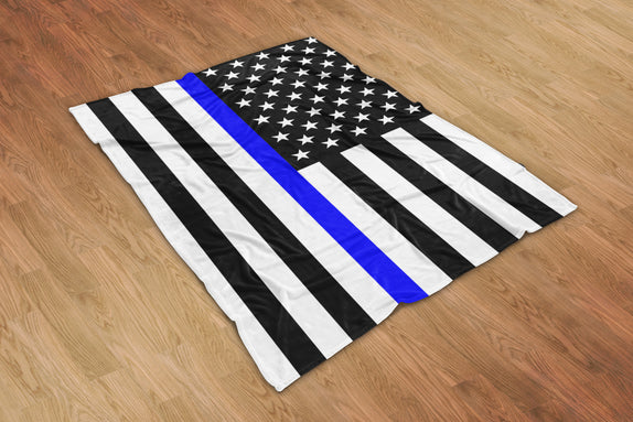 Thin Line Blanket Version 2 - Bo15 | Custom Shirts | Custom Gear | Design Your Own