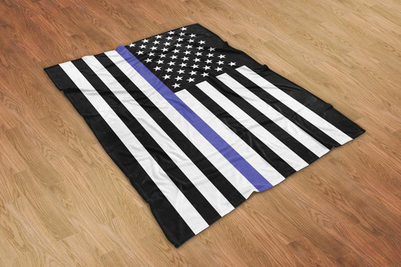 Thin Line Blanket - Bo15 | Custom Shirts | Custom Gear | Design Your Own