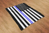 Thin Line Blanket | Support The Police