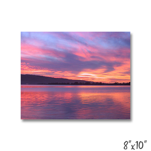 Colorful Lake Sunset - 1