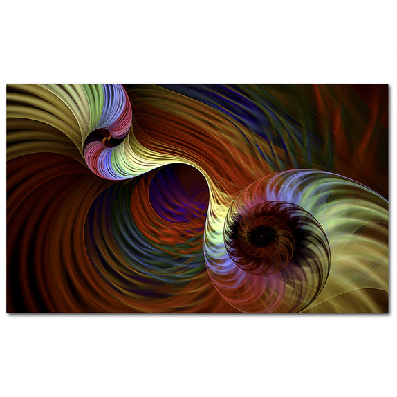 Colorful Swirls - 1