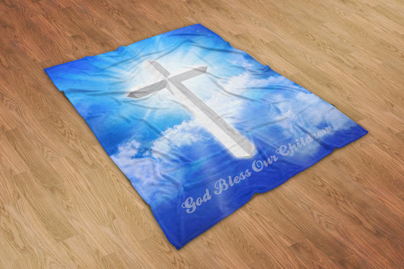 God Bless Our Children Blanket