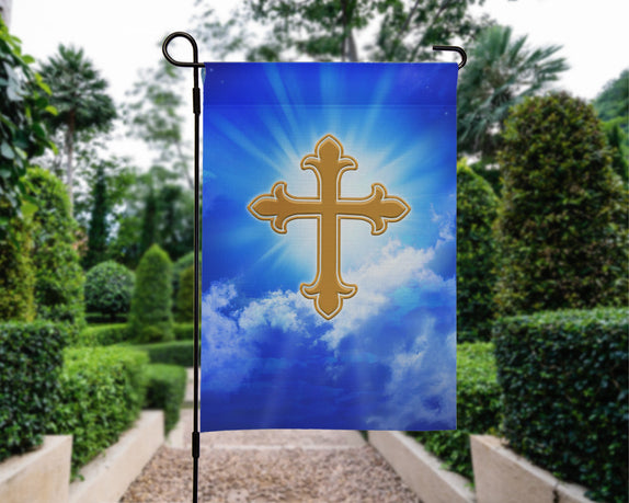 Faith Collection - 12'' x 18'' Garden Flag